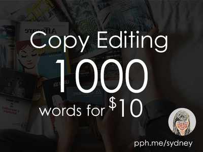 Proofread and edit 1000 words
