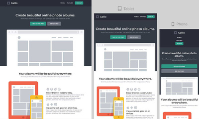 Create fantastic prototypes for website.