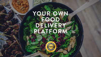Create your own full-featured Food Delivery Platform or website