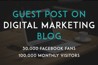 Guest post on top ranking Digital Marketing blog