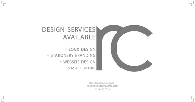 Produce any type of graphic for your company, starting from £40
