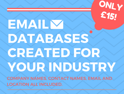 Create a list of 100 business email leads in a sector of your choice