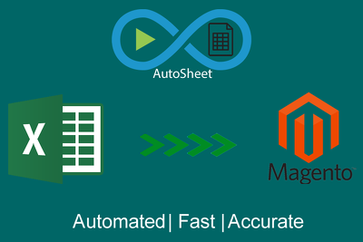 Populate .csv file with information for Magento and other web webstores.