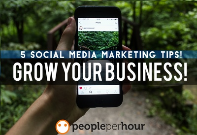 give you 5 social media marketing strategies for your business