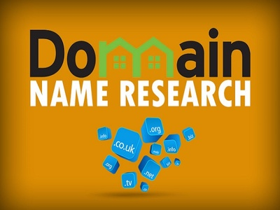 Find you 3 solid domain name and give you complete keyword research