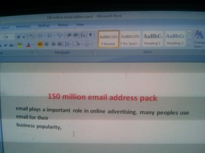 Give you 100k Email Address Pack for Specific Countries