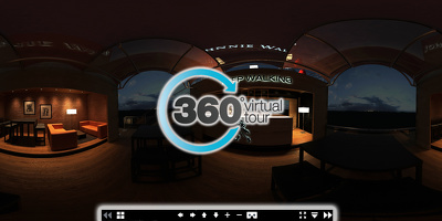 Provide you with an interactive 360 degree panorama for your VR glasses-VIRTUAL TOUR