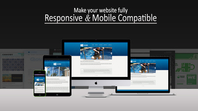 Make your website responsive and cross-browser compatible