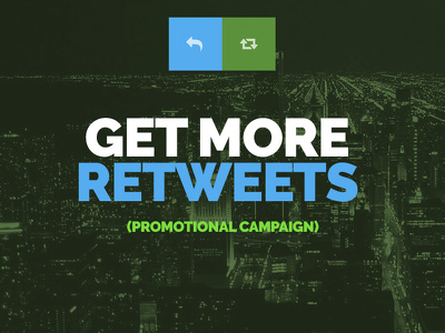 Safe retweets promotional campaign (800-1600 Impressions)