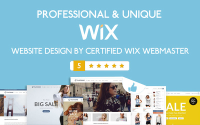 Design dynamic wix website