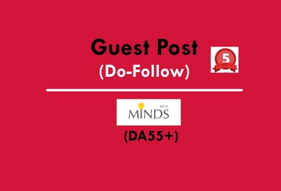 Write & Publish a Guest Post on Minds.com DA55+  (Dofollow)