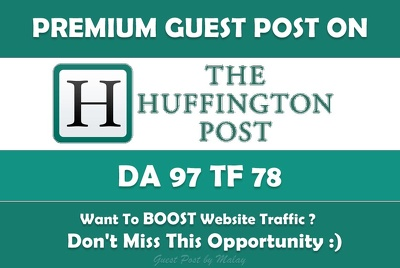 Guest Post HuffingtonPost.com Huffington Post, Google Indexed