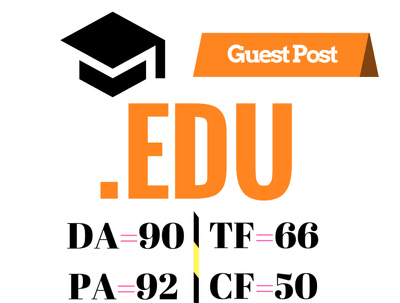 Do High Authority Educational Guest Post (DA92, PA90, TF66, CF50)