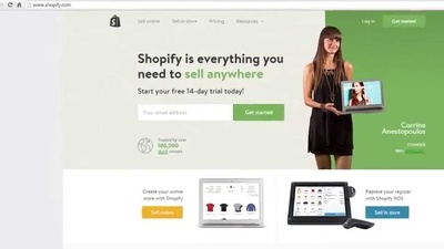 Create an attractive shopify website for $60