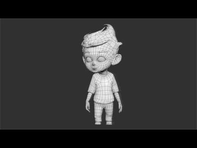 Create Low Or High poly 3d  model and texture