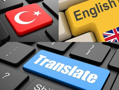 1k words Turkish  English Translation