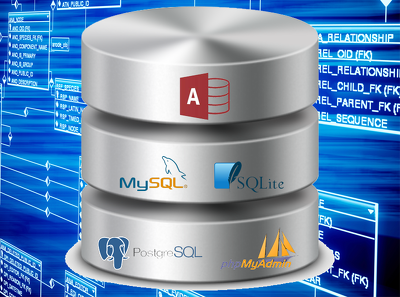 Create ERDs and design databases in MySQL and MS Access
