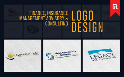 Design a Professional Finance, Insurance, Management, Advisory and Consulting Logo