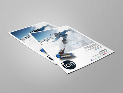 Design and create a postcard, leaflet, flyer or advertisement