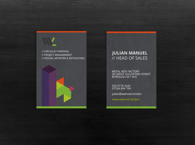 Professionally design/revamp your business card