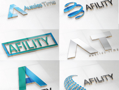 Design a Modern Flat/Minimalist Logo with 5 initial concepts in just 12 Hours.