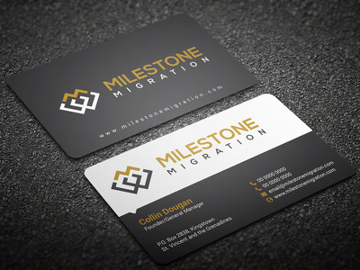 do attractive double side BUSINESS CARD design + source file