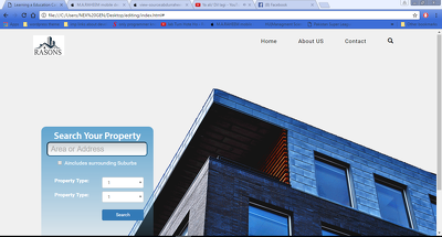 Desgin And Develop Responsive Website Using Php And Bootstrap