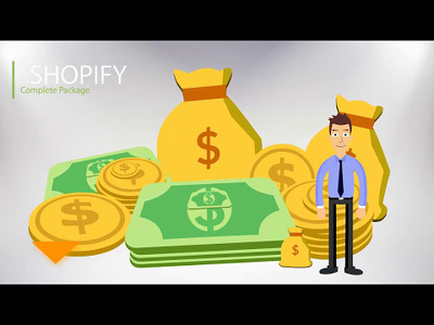 Build a complete Shopify store - This will grow your bank 10k+/M