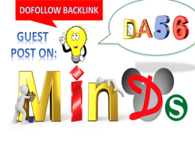 Publish Guest Post On Minds DA56