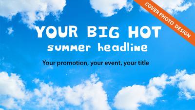 Design a summer promotion pack