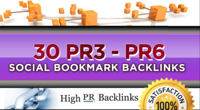 Get manually hight quality BACKLINKS  15 PR-3 to PR-6