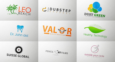 Design an unique and creative approach to logo