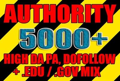 Create 5000 Moz High Da Pa, Dofollow, Edu And Gov Backlinks
