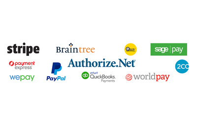 Integrate any payment system in website: Paypal Skrill 2Checkout Stripe Authorize.Net