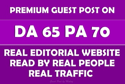 Write & Publish Guest Post on High Authority News/Blog/ Magazine - DA65, PA70