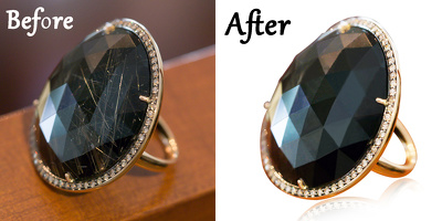 Do retouching & color correction work in Photoshop for 3 images