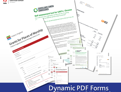 Create Dynamic Adobe Acrobat and LiveCycle PDF Forms