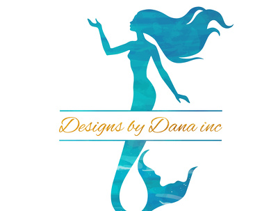 Design watercolor logo