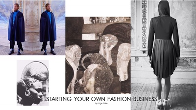 Offer a consultancy service for your start-up fashion design business