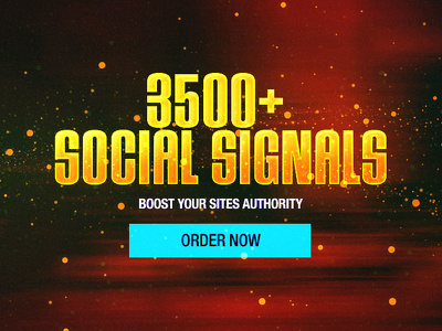 Build 3000 Social Signals From Popular Social Media Sites