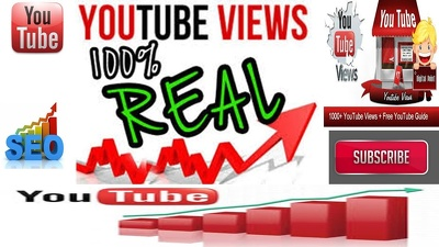 Real  human 2000+ youtube views