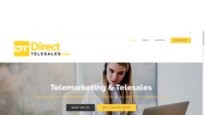 Provide a week of telemarketing / telesales / appointment setting / cold calls