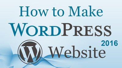 Teach wordpress with blog and set up wordpress