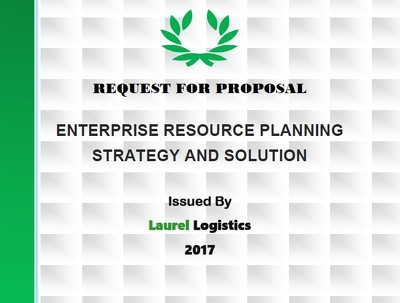 Deliver an RFP (Request for Proposal) for software package purchase or development