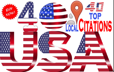 40 Live Local Citations For Your Local Business Listing in USA