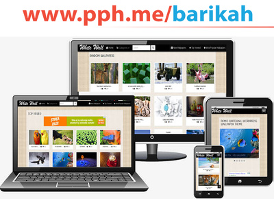Make a business or personal Wordpress responsive website