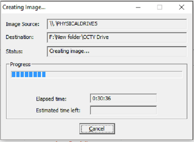 Create a forensically perfect filed copy of a USB flash drive (upto 64GB)