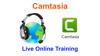 Deliver 1-to-1 live online training on Camtasia for 1 hour