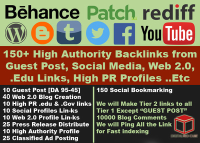 Monster SEO Package - 300+ HIgh Quality SEO Backlinks