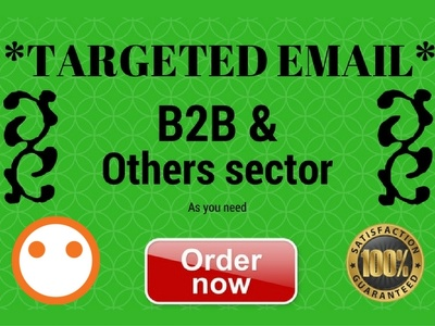 Provide Email Listing Any Sector